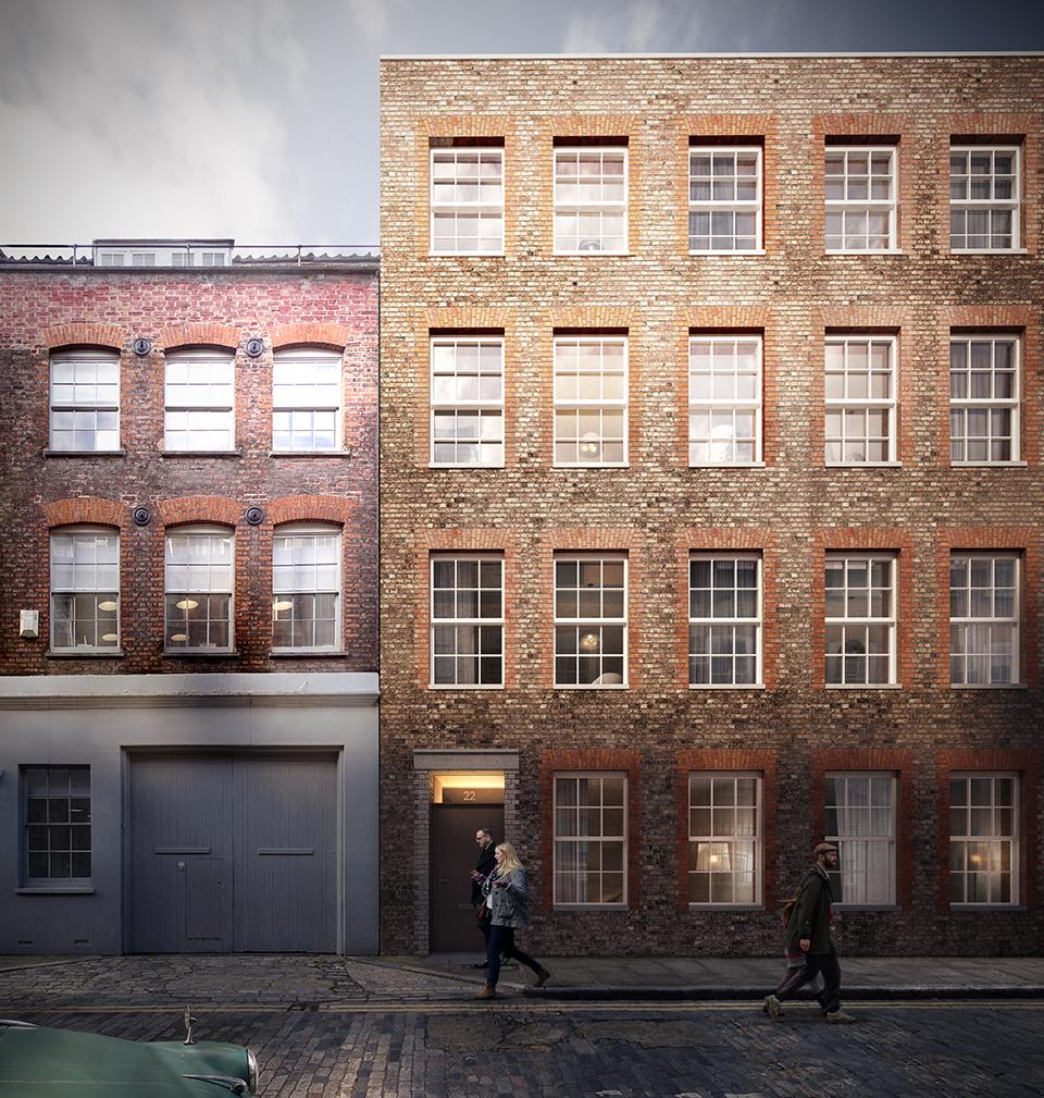 Blossom Street Development Spitalfields