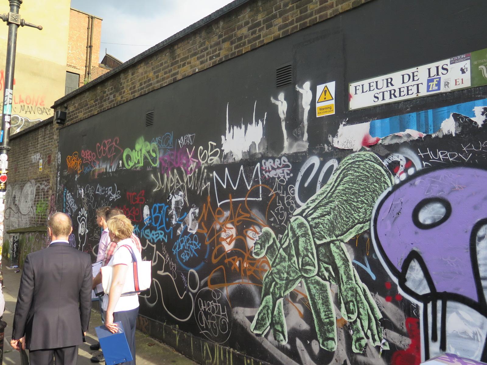 Blossom Street Graffiti