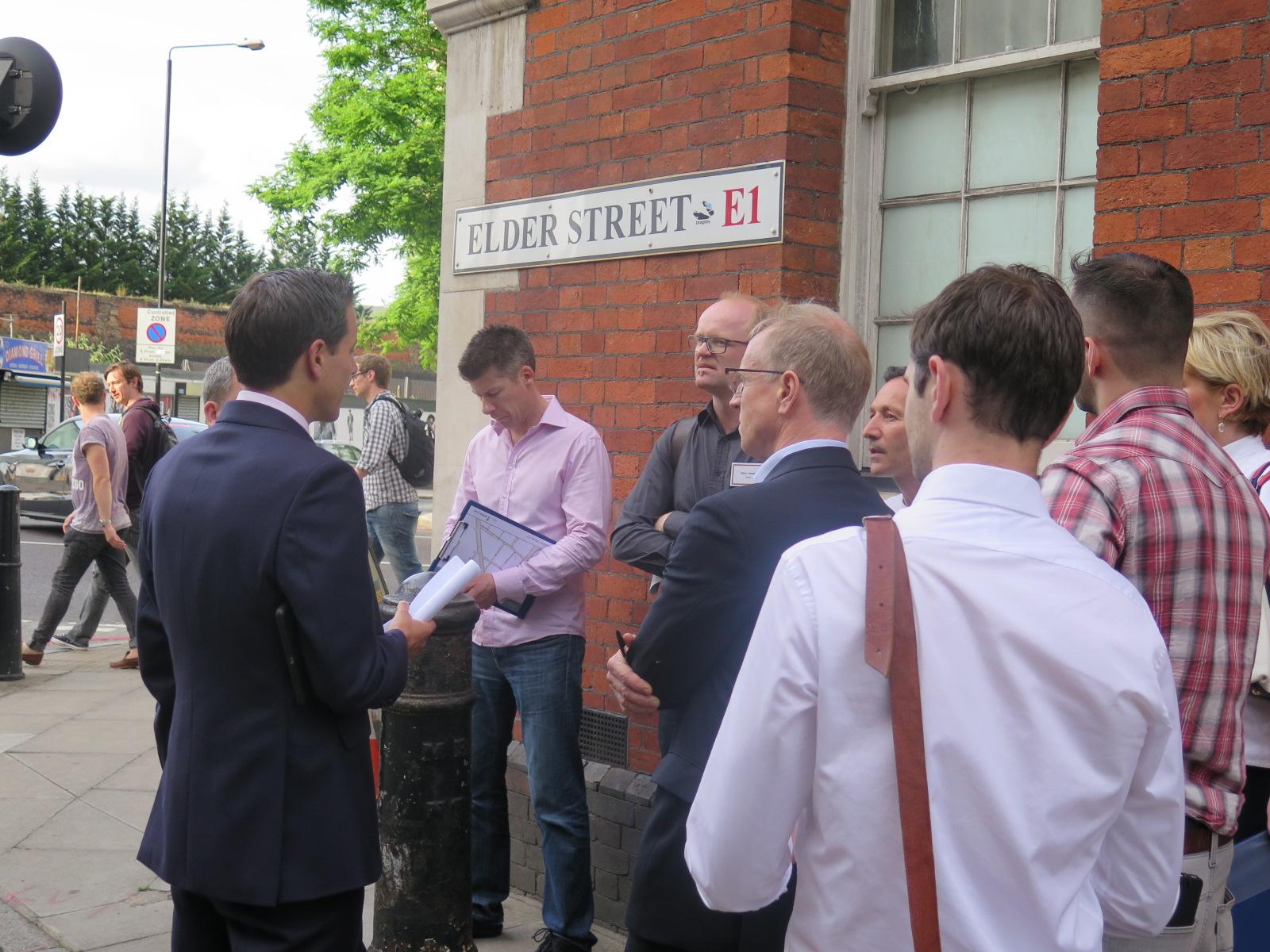 Elder Street Blossom Street Development E1